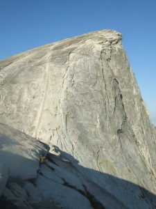 half dome backside