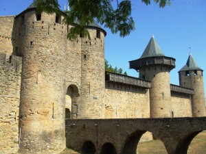 Carcassonne mote