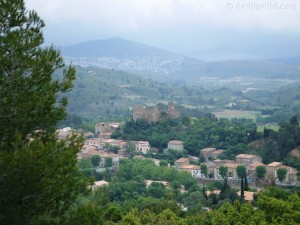 Southern France countryside