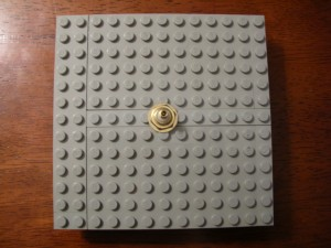 lego clock base