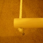 Indoor swing dowel