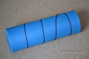 blue closed cell sleeping pad