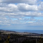 Lake superior from George Crosby