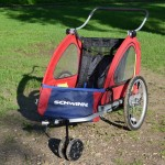 Our Schwinn bike trailer