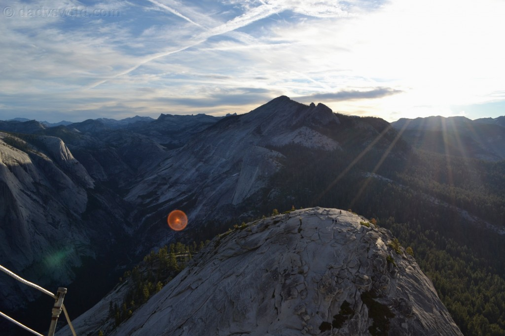 Sunrise from half dome
