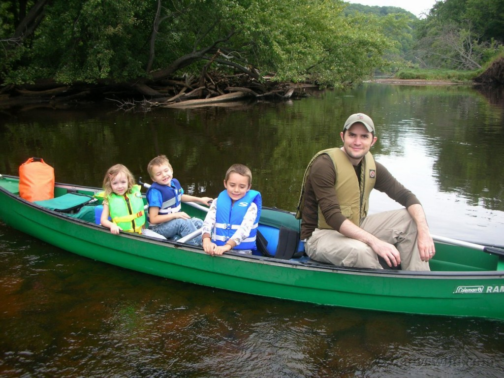 Canoeing the St Croix