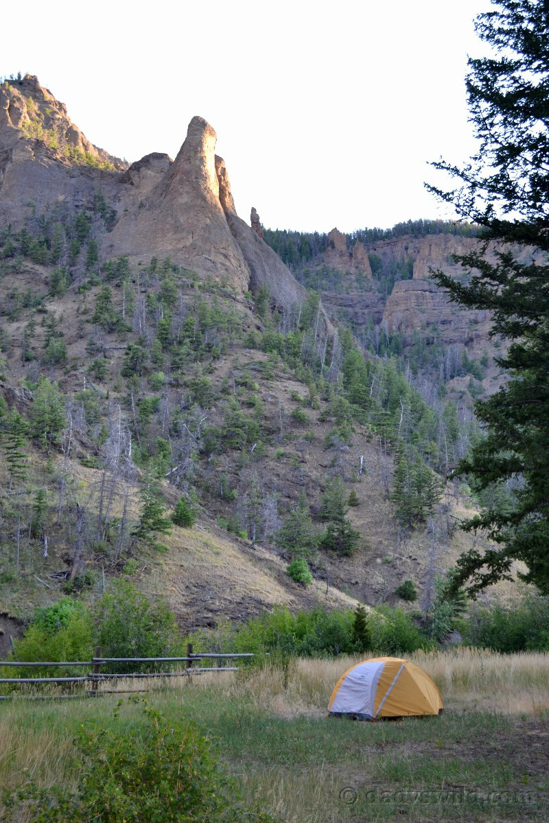 Next up on the north fork highway is newton creek which allows tents