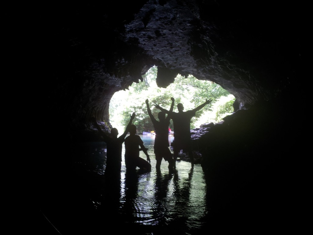 cave on the current river
