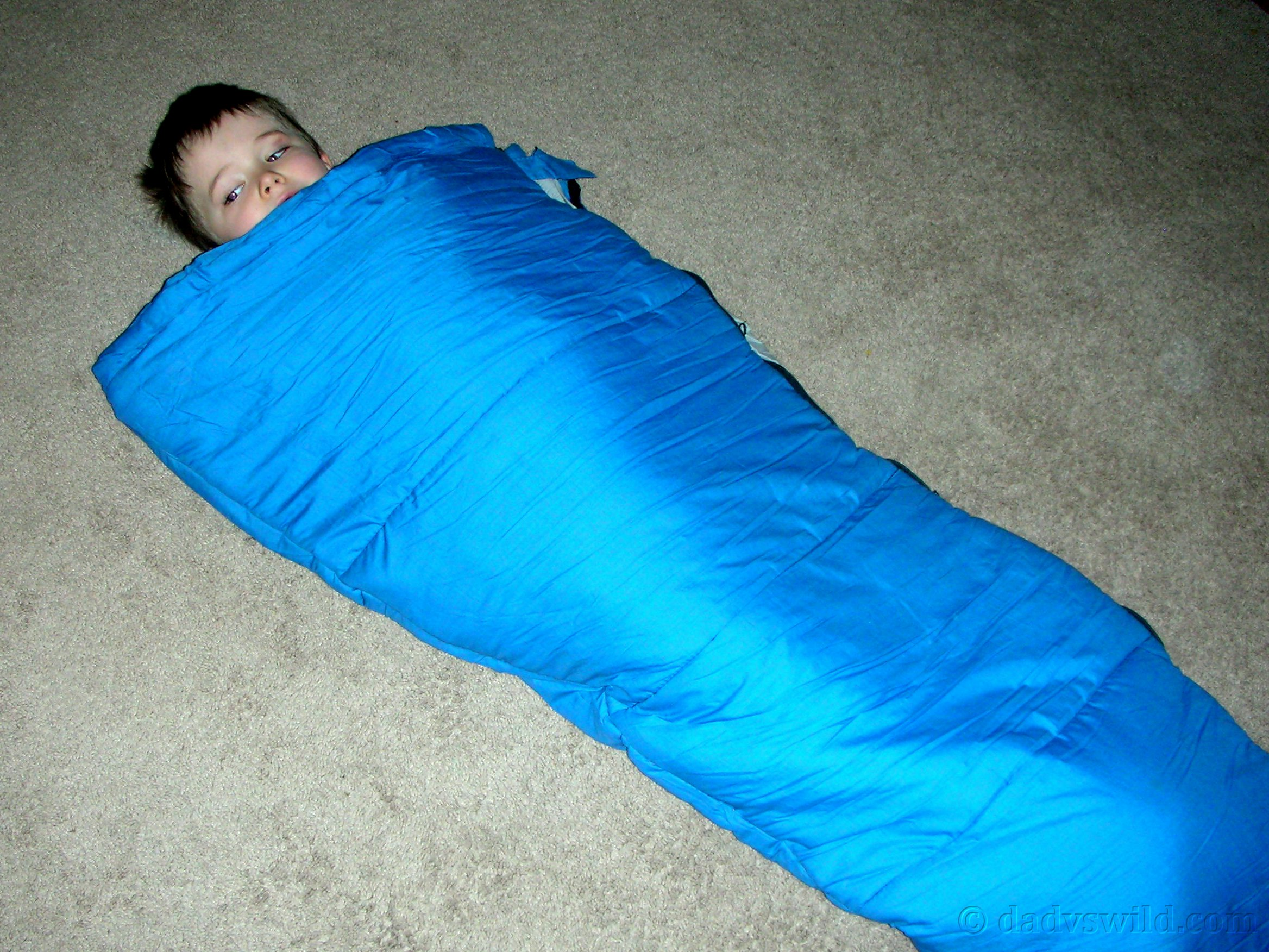 Homemade Sleeping Bag for Kids – Dad vs Wild