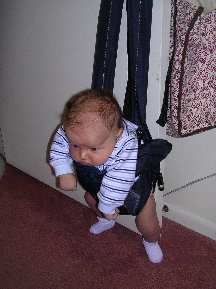 Indoor Homemade Baby Swing Dad Vs Wild